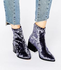 Velvet Shoes: The #1 Affordable Trend You'd Be Insane to Miss via @WhoWhatWearUK