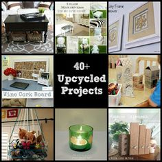 Easy Home DIY And Crafts: 40+ Upcycled Projects And Recycled Crafts And DIY Projects