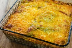 Kalyn's Kitchen®: Spicy Green Chile Mexican Casserole Recipe with Ground Beef, Black Beans, and Tomatoes