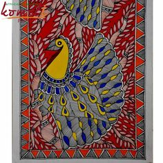 madhubani peacock - Google Search