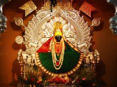 Here is Some Information about Mahalakshmi Temple( Eyes of Godess Sati Devi Shakti pith) in Kolhapur Maharashtra India. Lord Durga, Durga Maa, Lord Ganesha, Durga Images, Lord Krishna Images, Mahavatar Babaji, Maa Durga Image, Ganapati Decoration, Lord Shiva Painting