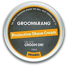 From 5.99 Groomarang Protective Shave Cream For Men - A Luxurious Close Shave That Leaves Your Skin Feeling Soft Smooth & Refreshed - 100% Natural Face Skin Care Organic & Vegan
