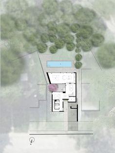 Casa Cedarvale Ravine,Planta do térreo