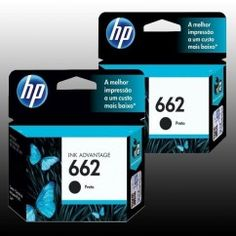 BUNDLE 2 TINTAS HP 662 PARA IMPRESORA DESKJET 2515 (CZ103AL)