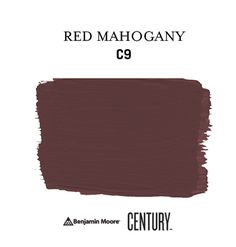 Reimagined in a Soft Touch Matte finish, RED MAHOGANY C9 makes a bold accent. #ExperienceCENTURY