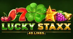 Play this casino slot: Lucky Staxx: 40 Lines at Maneki online casino - Lucky Staxx: 40 Lines is a game for you to try by QuickFire Online Casino Slots, Best Online Casino, King Play, Poker Bonus, Frozen Queen, Casino Promotion, Dragon King, Video Poker, Gypsy Rose