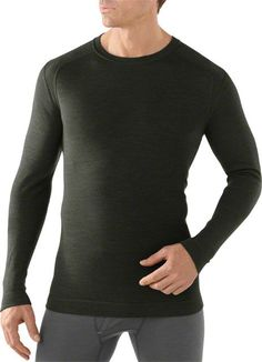 Smartwool Midweight Crew Men's Long Sleeve Base Layer Top