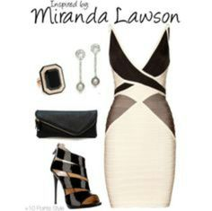Outfit inspired by Miranda Lawson
