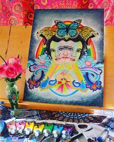 New work in progress by @hazypaisley     #hazypaisley #elliepaisley #visionaryart #psychedelicart #rockart #infinitebit