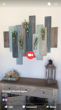 Home Decoration Ideas Wall .Home Decoration Ideas Wall Diy Wall Decor, Diy Home Decor, Pallet Wall Decor, Wall Decor Design, Diy Pallet, Rustic Decor, Farmhouse Decor, Country Decor, Frame Layout