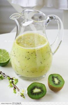 Pobudzający koktajl z zieloną herbatą || mysweetworld na Stylowi.pl