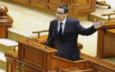 Guvernul lui Victor Ponta, prezentat Parlamentului  http://www.politicaromaneasca.ro/guvernul_lui_victor_ponta_prezentat_parlamentului-20940