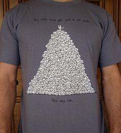 Bunny's Very Rich Tshirt by bikeparts on Etsy. $25.00, via Etsy.