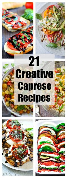 Nothing says summer to me more than caprese salad, and it's the best way to celebrate juicy, sweet summer tomatoes in my opinion. While I'm perfectly satisfied eating classic caprese salad of tomato, mozzarella, and basil all summer long, why stop there when there are so many different ways to enjoy it?This round up of [...]