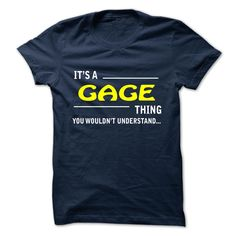 GAGE T-Shirts, Hoodies. SHOPPING NOW ==► https://www.sunfrog.com/Camping/GAGE-141828498-Guys.html?id=41382