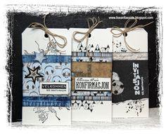papirdesign-blogg: Invitasjon til konfirmasjon Masculine Cards, Ol, Card Ideas, Scrapbooking, Tags, Scrapbook, Memory Books, Scrapbooks