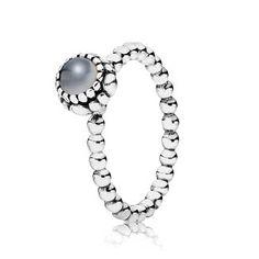 Pandora - June Birthstone Ring, love this for my baby girl's june birthday!