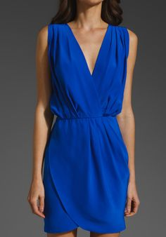 cobalt blue bridesmaid dresses - Love this for one of my girls!!!!