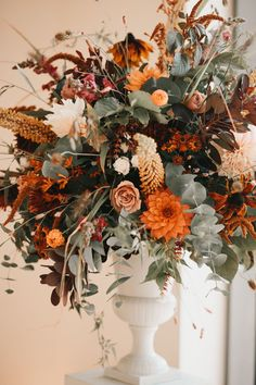 autumn colours Autumn Wedding Ceremony at Wedding Barn Venue, Surrey, Millbridge Court Wedding Reception Ideas, Barn Wedding Venue, Wedding Ceremony, Table Wedding, Church Wedding, Burnt Orange Weddings, Orange Wedding Colors, Autumn Wedding Colours, Autumn Colours