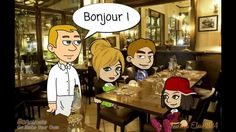 Au restaurant - YouTube French Teacher, Teaching French, French Worksheets, French Education, Core French, French Restaurants, French Food, Learn French, Year 8