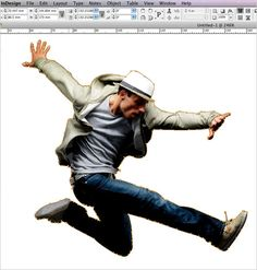 Photoshop Clipping Path within InDesign tutorial 30 Useful Adobe Indesign Tutorials To Learn In 2013
