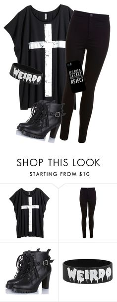 Untitled #286 by rockerchic0 on Polyvore featuring H&M, Miss Selfridge and Samsung