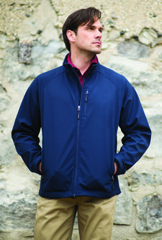 Light as a feather, this jacket shields you from weather. The 3-layer bonded fabric offers maximum weather protection and versatility. Easy to embroider.