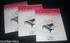 NEW-SET-OF-3-PIANO-ADVENTURES-LEVEL-1-FABER-LESSON-THEORY-TECHNIQUE-ARTISTRY