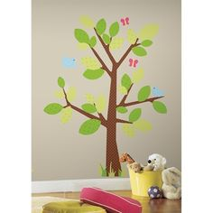 Kids Tree Giant Wall Decal | RoomMates Wall Decals