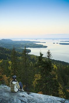 Koli National Park - View of lake Finland