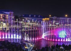 Show Fountains - The Island Pigeon Forge