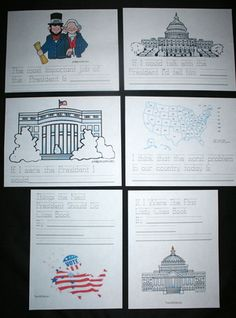 All of these writing prompts have an election theme and are perfect for your November writing activities. Once completed, they make wonderful November bulletin boards and hallway.