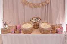 Wedding Popcorn Bar  - PHOTO SOURCE • JUST FOR YOU PHOTOGRAPHY | Featured on WedLoft