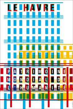 Apeloig - «Toutes mes affiches sont composées sur la base d'une grille, qui joue le rôle des fondations d'un édifice. C'est un système que j'ai appris en Hollande et que je continue à utiliser.»
