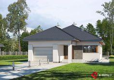 E-180 - E-DOMY.pl Projekty domów jednorodzinnych, piętrowych, energooszczędnych.