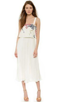 Elle Sasson Luana Embellished Dress
