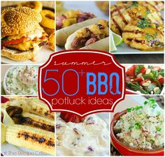 50+Summer BBQ Potluck Ideas at https://therecipecritic.com  This is the last pin that you will need for amazing BBQ recipes this summer!
