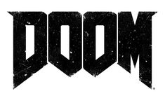 View an image titled 'Doom Logo' in our Doom art gallery featuring official character designs, concept art, and promo pictures. Doom 2016, Game Logo, Ghost Rider, Typography Inspiration, Keyboard, Devil, Bleach, Shark, Concept Art