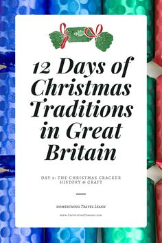 What Is A Christmas Cracker & Who Invented It? Grab the Day 2 lesson of this 12 Days of Christmas Traditions in Great Britain series. Have Fun Learning Together about the Christmas Traditions of Great Britain. Christmas Party Food, Christmas Crackers, Diy Christmas Gifts, Christmas Ideas, Christmas History, 12 Days Of Christmas, E Craft, Thing 1 Thing 2, Christmas Traditions