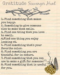 Ways to Teach Gratitude to Children gratitude scavenger hunt, great for promoting a growth mindset.gratitude scavenger hunt, great for promoting a growth mindset. Positive Tattoo, Motivation Positive, Foto Fun, Thinking Day, Activity Days, Family Activities, Thanksgiving Activities, Summer Activities, Therapy Activities