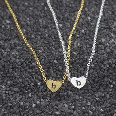 2017 Lowercase Letters a b c d e f g h i j k l m n o p q r s t u v w x y z Initial Pendant Necklace Simple Women long Necklace #Affiliate