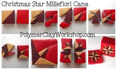 Meg Newberg - Polymer Clay Christmas Cane Tutorial