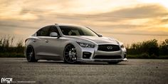 Check out this Infiniti Red Sport wearing a set of custom Niche Vicenza - wheels and see the new Niche Rims Gallery and Specifications at WheelsASAP! Infiniti Q50 Red Sport, 2017 Infiniti Q50, Maserati Gt, Car Pictures, Car Pics, Skyline Gt, Wheels And Tires, Future Car, Cars
