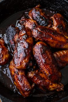 Hot Wings (and a cookbook giveaway! Chicken Wing Recipes, Baked Chicken, Bbq Chicken, Guisado, Cooking Recipes, Healthy Recipes, Smoker Recipes, Half Baked Harvest, Chicken Wings