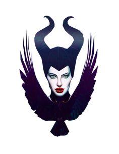 Angelina Jolie as Maleficent by DanielleBostic.deviantart.com