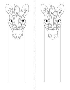Animal Coloring Bookmarks « Children's Book Illustrator, Print and Mobile App Designer Diy Bookmarks, Corner Bookmarks, How To Make Bookmarks, Stencil Font, Shrink Art, To Color, Coloring Book Pages, Book Making, Colorful Pictures