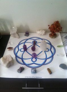 """Mary Beth says """"I found my Eternal Flame""""! Thanks Mary Beth, love the energy coming off of this one! All Spark, Eternal Flame, Crystal Grid, Paradise, Thankful, Mary, Crystals, Friends, Amigos"""