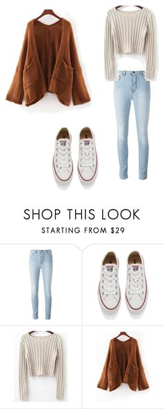 """Untitled #2"" by kassandraavila on Polyvore featuring Converse"
