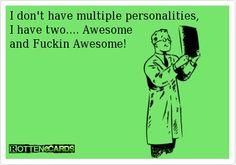 I am awesome...