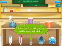 School of Multi-Step Directions ($18.99)  for students ages five to 12, to improve auditory comprehension of multi-step directions in the academic context.  2-step, 3-step and 4-step of unrelated directions with multiple levels of difficulty. Figure-Ground.
